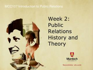 Week 2: Public Relations History and Theory