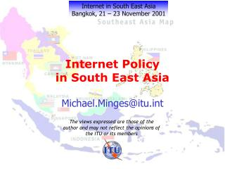 Internet Policy  in South East Asia