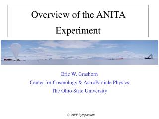 Overview of the ANITA Experiment
