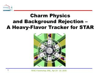 Charm Physics  and Background Rejection –  A Heavy-Flavor Tracker for STAR