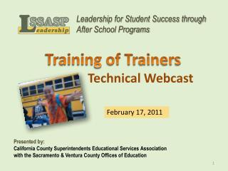 Technical Webcast