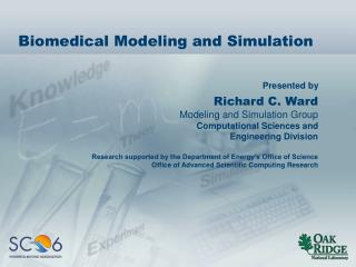 Biomedical Modeling and Simulation