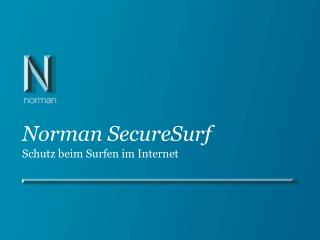 Norman SecureSurf