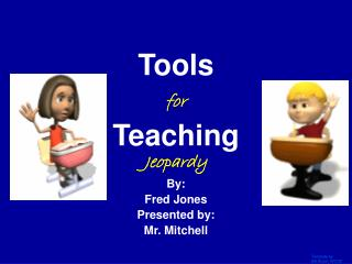 Tools for Teaching Jeopardy