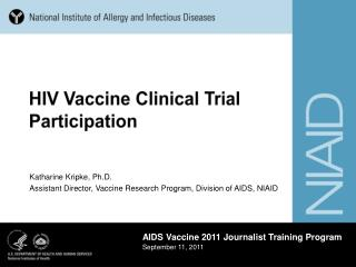 HIV Vaccine Clinical Trial Participation