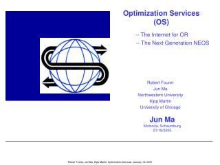 Optimization Services (OS)