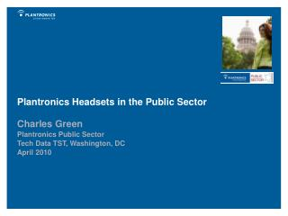 Plantronics Headsets in the Public Sector