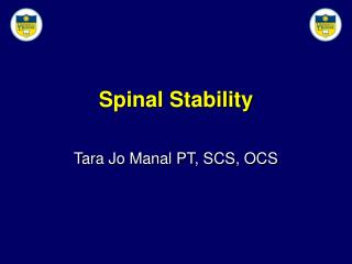 Spinal Stability
