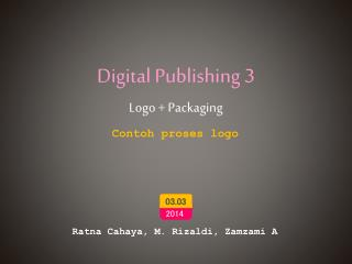 Digital  Publishing 3