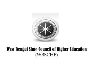 West Bengal State Council of Higher Education  (WBSCHE)