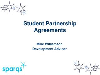 Student Partnership Agreements