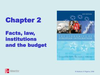 Chapter 2  Facts, law, institutions  and the budget