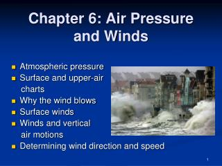 Chapter 6: Air Pressure and Winds