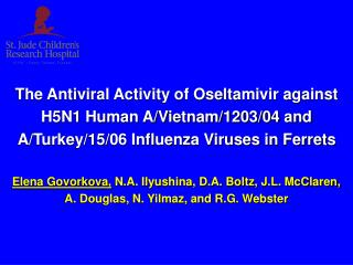 Oseltamivir Therapy for H5N1 Virus Infection