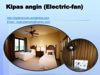 Kipas angin (Electric-fan)