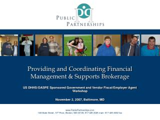 Providing and Coordinating Financial Management & Supports Brokerage