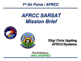 AFRCC SARSAT Mission Brief