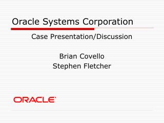 Oracle Systems Corporation
