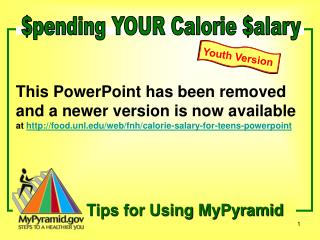 $pending YOUR Calorie $alary
