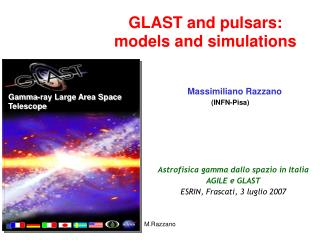 GLAST and pulsars: models and simulations