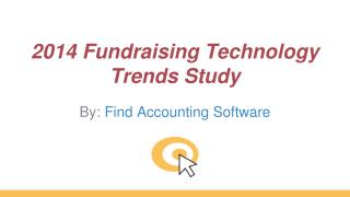 2014 Fundraising Technology Trends Study