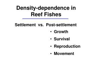 Settlement vs. Post-settlement