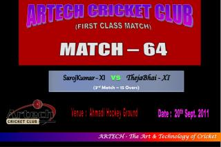 ARTECH CRICKET CLUB
