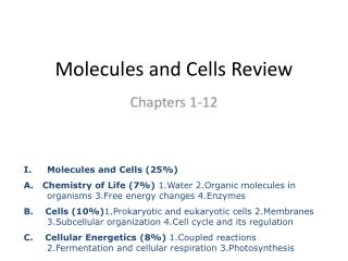 Molecules and Cells Review