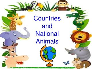Countries and National Animals