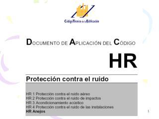 Sección HR Anejos