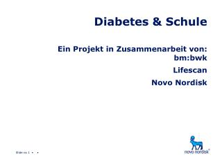 Diabetes & Schule