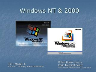 Windows NT & 2000