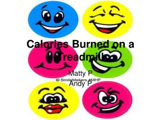 Calories Burned on a Treadmill