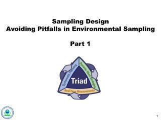 Sampling Design Avoiding Pitfalls in Environmental Sampling Part 1