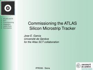 Commissioning the ATLAS Silicon Microstrip Tracker