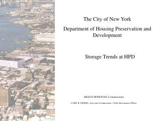 The City of New York Department of Housing Preservation and Development