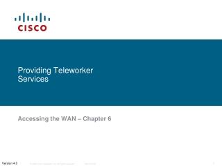 Providing Teleworker Services