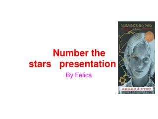 Number the stars   presentation