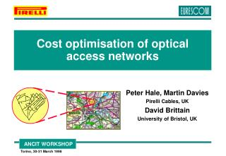 Cost optimisation of optical access networks