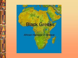 Black Greeks