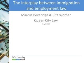 The interplay between immigration and employment law