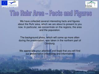The Ruhr Area – Facts and Figures