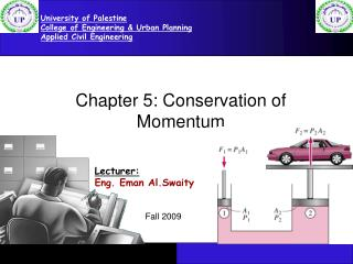 Chapter 5: Conservation of Momentum