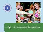 Communication Perspectives