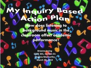 My Inquiry Based Action Plan