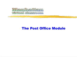 The Post Office Module