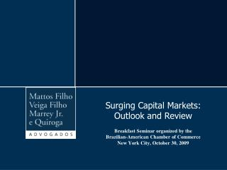 Short History of the Brazilian Capital Markets
