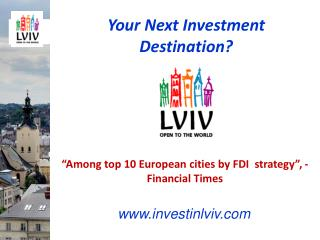 Your Next Investment Destination?
