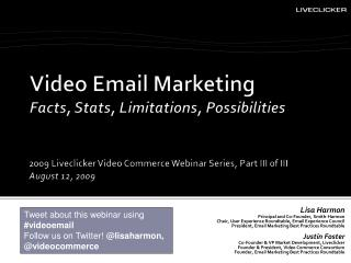 Video Email Marketing Facts, Stats, Limitations, Possibilities