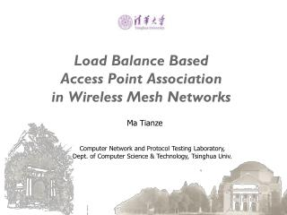 Load Balance Based  Access Point Association  in Wireless Mesh Networks